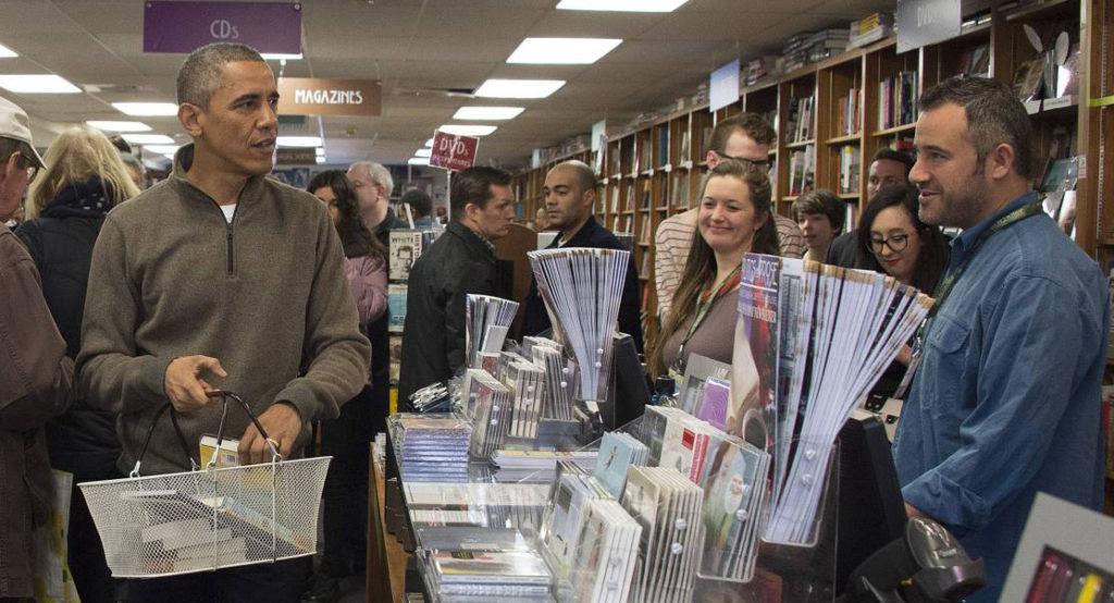 Claribel Terré Morell. Presidentes escritores. Be Cult. Revista Be Cult. Obama. Obama escritor y comprador compulsivo de libros.
