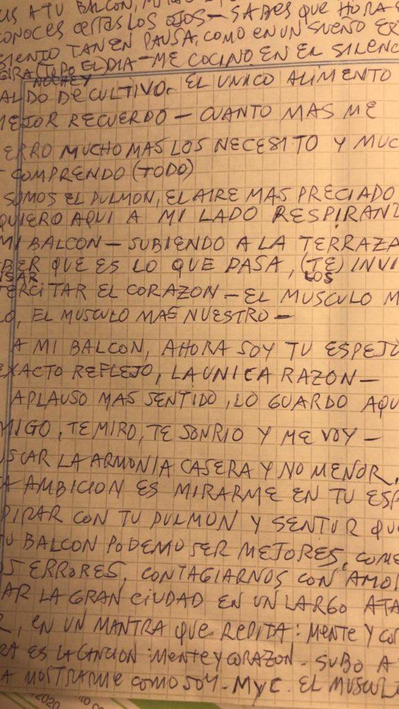 Letra de Mente y corazón. Antonio Birabent. Be Cult. Revista Be Cult.