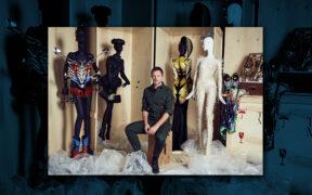 Thierry Maxime Loriot. Be Cult. Revista Be Cult. Flor Bibas. La moda es la unica forma de arte que se puede usar