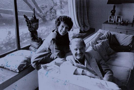 Luisa Valenzuela y Carlos Fuentes