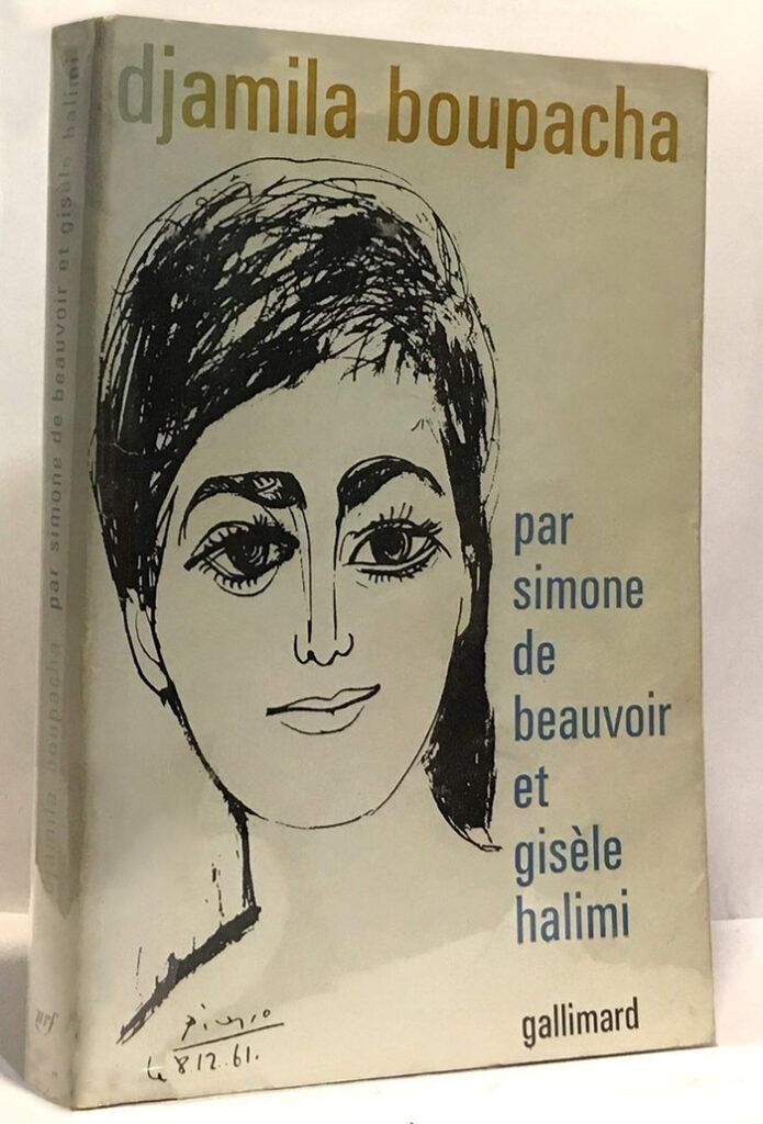 Portada del libro de Halimi sobre el caso Djamila Boupacha con ilustración de Pablo Picasso